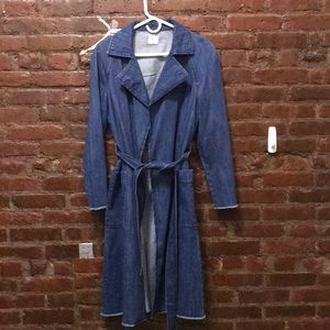 Gap Denim Trench